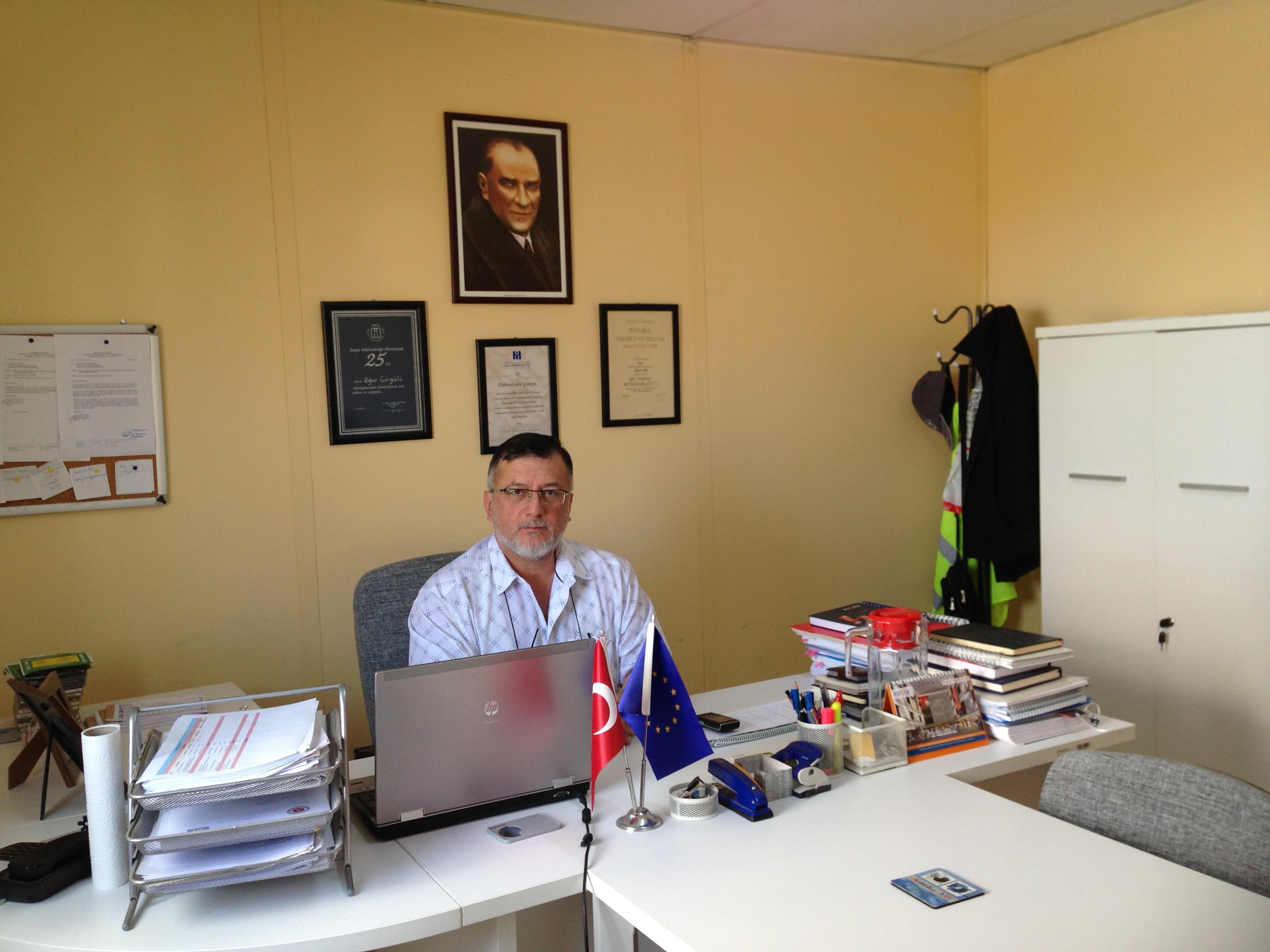 Şantiye Ofisimdeyim