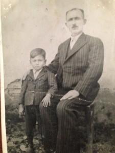 Cavit Dayım ve rahmetli Mustafa dedem