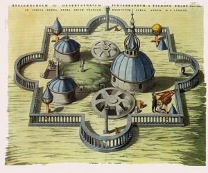 Tycho Brahe tarafından kurulan Uranibourg